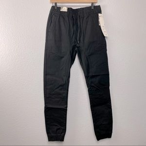 NEW Southpole Men's Basic Stretch Twill Joggers
